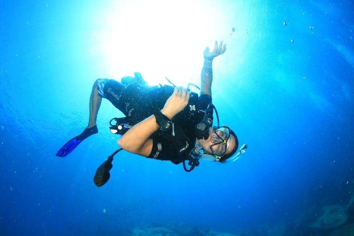 Open Water diver 06
