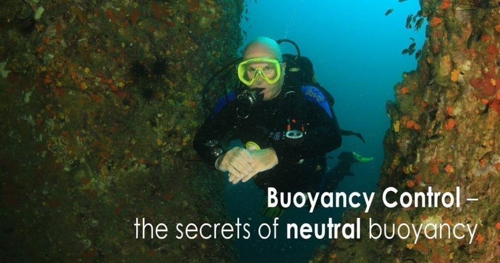 Buoyancy Control – the secrets of neutral buoyancy