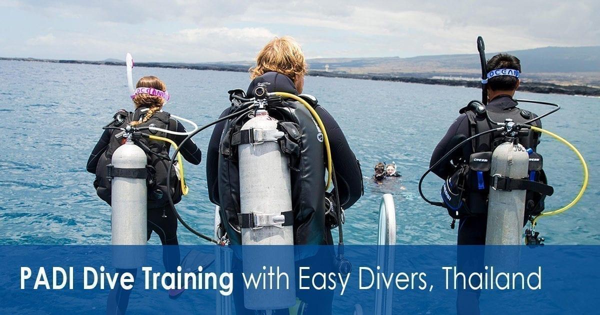 PADI Dive Training with Easy Divers, Koh Samui, Thailand